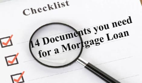 Mortgage Documents Needed – Checklist